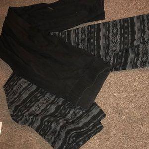 Set of 2 Maurice's leggings